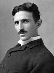 Tesla circa 1890