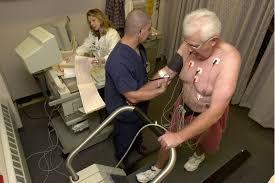 cardiac screening guidelines stress test